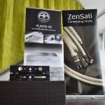Acoustic Arts CD Laufwerk, Tube Pre-Amp und ZenSati