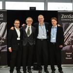 Das ZenSati/surrounTec Messe-Team ist sichtlich zufrieden :-)