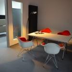 VIP Suite mit Vitra und Artemide (und gutem Espresso, Pralinen, ...)