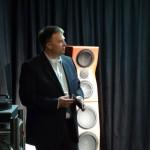 Meik Wippermann macht das Programm für surrounTec auf der High-End 2012
