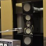 Einmessung im Raum, der Hoch- und Mitteltonpfad wird passiv korrigiert, die finalen Filter im Raum abgestimmt und verlötet